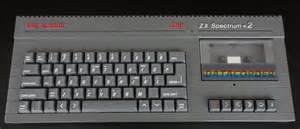 zx spectrum sinclair zx spectrum 2 grey model vintage cpu