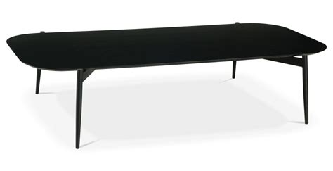 furniture am dolce vita stylish black white coffee table