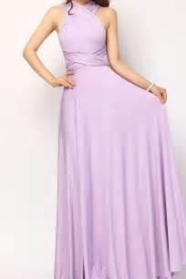 lavender maxi infinity dresses bridesmaid dress