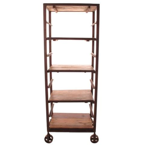 Headboard Display Rack Buttermere Reclaimed Wood Baker S Rack Display Bookcase