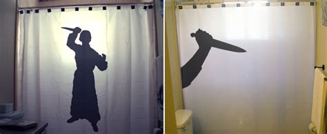 psycho shower curtain psycho knife killer halloween shower curtain funny shower