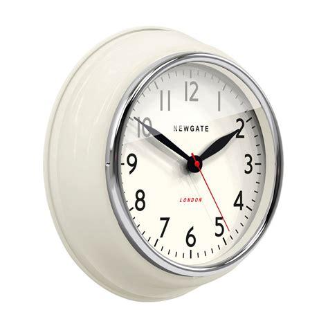 clock buy buy newgate clocks the mini cookhouse clock linen white