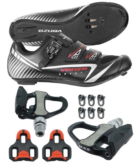 road bike shoes spd buy venzo road bike cycling shoes pedals cleats for