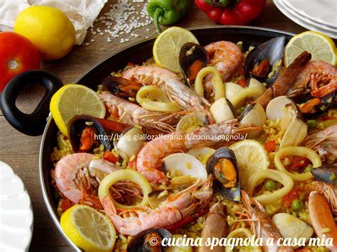 cucina di pesce ricette ricerca ricette con paella di pesce giallozafferano it