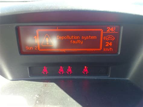 depollution system faulty peugeot 307 depollution system faultyが表示される プジョー 207 ハッチバック by