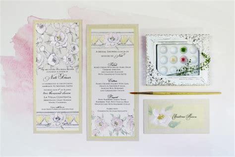Baby Milestone Bisa Custom Nama Green Succulent watercolor invitations momental designsmomental designs