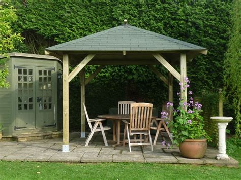 gazebo 4x3 tourist open timber gazebo 3 4x3 4m