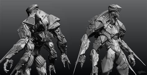 zbrush tutorial robot making of w a s p cg tutorial