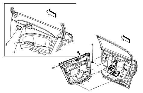 service manual 2008 buick lucerne centre trim panel removal oem bumper components rear for