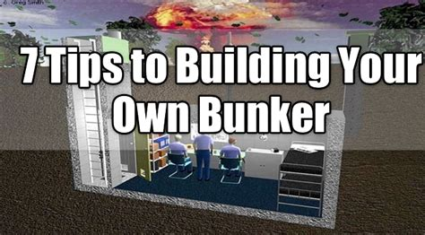 design your own underground home preparation for trump apocalypse dried food bunker