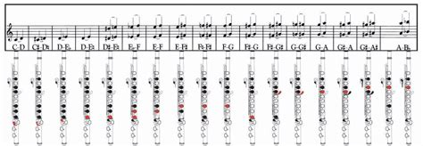 tavola posizioni flauto traverso jazzitalia lezioni flauto lezione 17