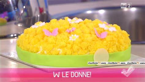 Mimosa By Eric Summers detto fatto ricetta torta mimosa di alessandro servida