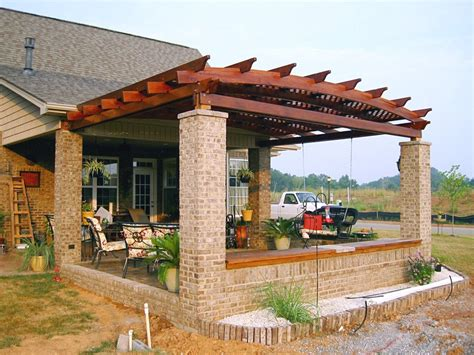 garden pergola with roof pergola kits attached to house attached garden pergolas