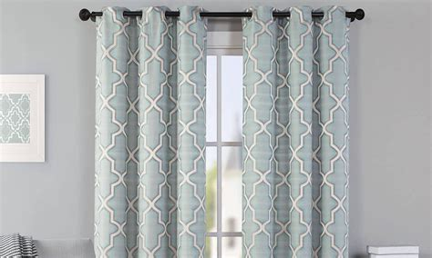 hang curtains hang a valance and curtains in 6 easy steps overstock com