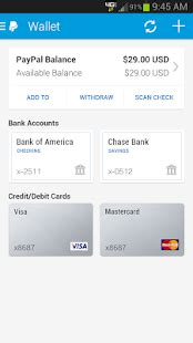 paypal mobile apk paypal apk free finance apps for android
