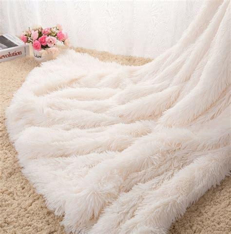 Flauschige Decke by Soft Shaggy Warm Cozy With Fluffy Throw