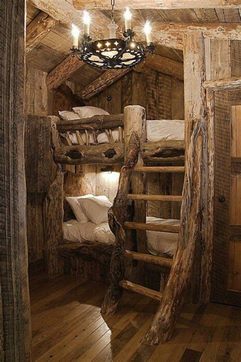 Cool Cabin Bunk Beds My Style Pinterest Cabin Bunk Beds For