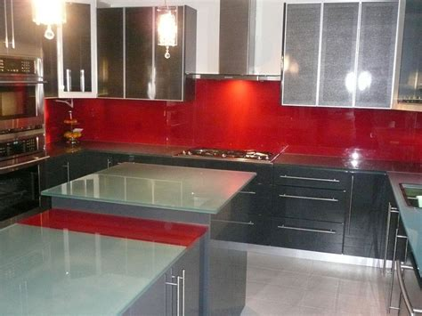 Back Painted Glass Countertops by Backpainted Kitchen Glass Countertop Cbd Glass