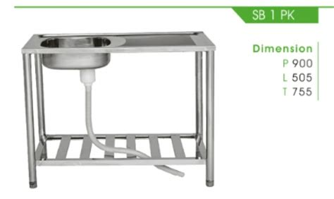 Kitchen Sink Royal Sb 1pk kitchen set royal detil produk sb 1 pk royal sink fortuna alumunium tirta stainless steel