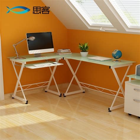 minimalist corner desk best off modern minimalist glass corner computer desk desk home office desk simple combination jpg