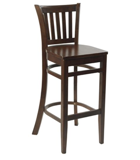 Wooden Pub Chairs Pub Shop Bar Furniture Traditional High Bar Stool In