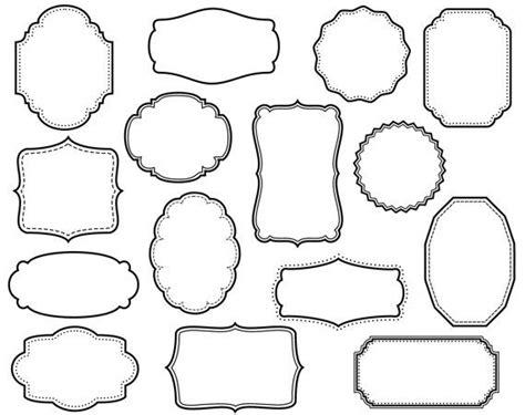 printable shapes for scrapbooking 36 best scrapbook printables images on pinterest