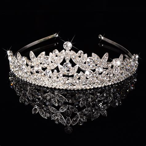 Tiara Princess Crown Mahkota Permata Type I get cheap quinceanera crowns aliexpress alibaba