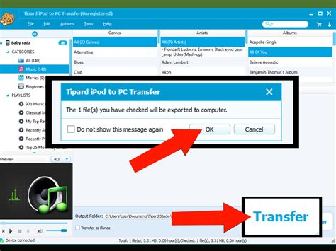 irip ipod and iphone music transfer software for mac or how to transfer music from ipod to computer with tipard