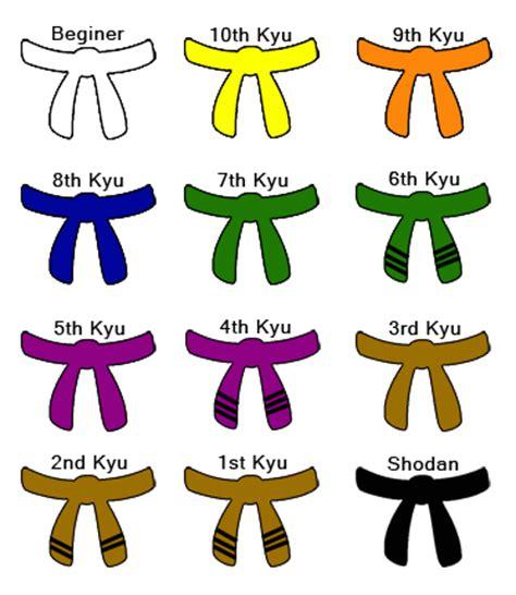 karate belt color order svu self defence karate belts order of cmas