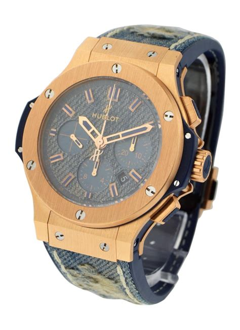 Hublot Big Blue Rosegold Rubber 1 301 pl 2780 nr hublot big 44mm gold essential watches