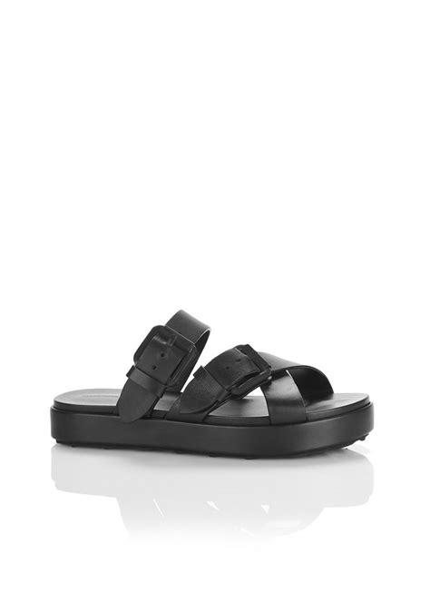 alexander wang kriss sandal flats official site