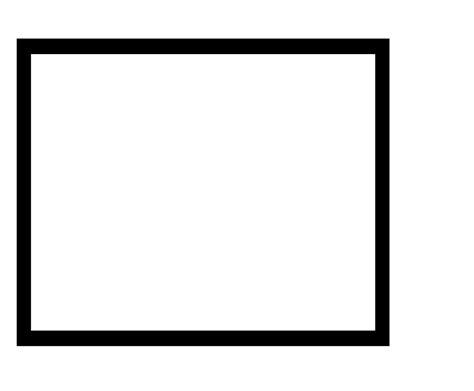 Plain Black Photo Frames
