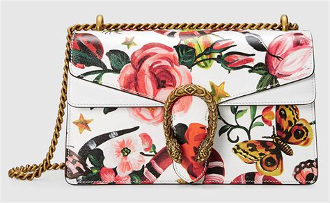 Harga Gucci Floral siapa bilang tren tas bermotif floral sudah punah jual