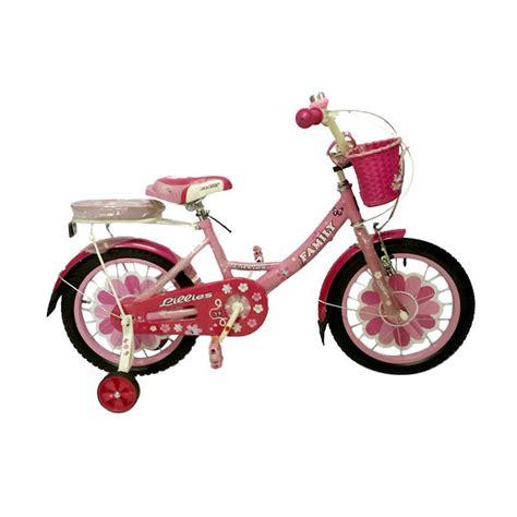 Kaos Anak Sepeda Pink jual family lilis bmx sepeda anak pink 12 inch harga kualitas terjamin blibli