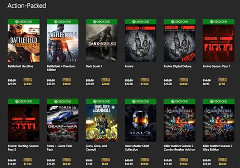 xbox one free game deals