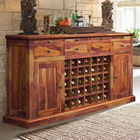 solid wood bar cabinet oenophile dallas ranch solid wood grand wine bar cabinet