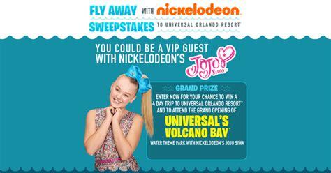 Universal Sweepstakes 2017 - fly away with nick meet jojo siwa at universal orlando resort