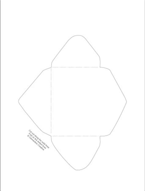 free printable mini envelope templates free printable mini envelope templates and liners