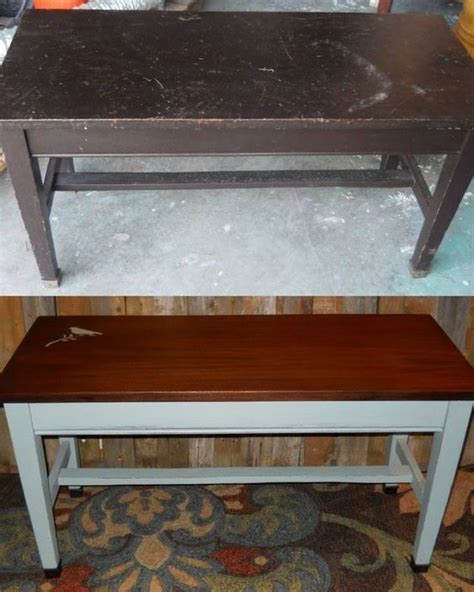 chalk paint bench piano bench duck eggs and blue chalk paint on pinterest