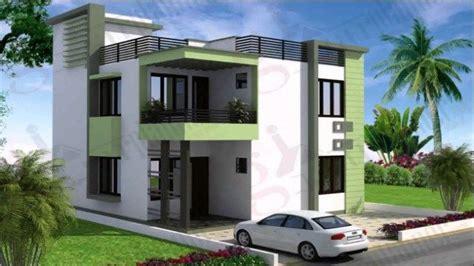 north facing house elevation designs duplex house design