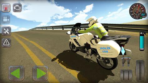 android icin trafik polisi motorsiklet simuelatoer oyunu