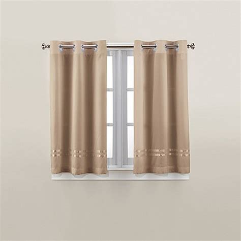 45 inch curtains and drapes hookless 174 escape 45 inch bath window curtain panels