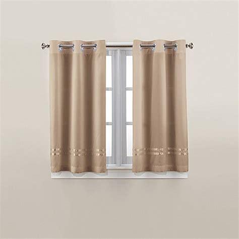 45 inch curtain panels hookless 174 escape 45 inch bath window curtain panels