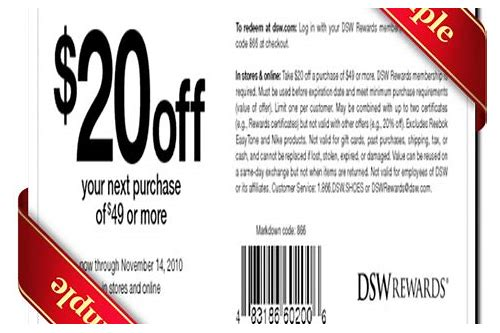 printable coupon dsw shoe warehouse