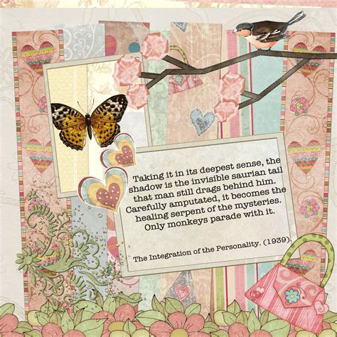 Scrapbook Ideas - if carl jung had discovered scrapbooking
