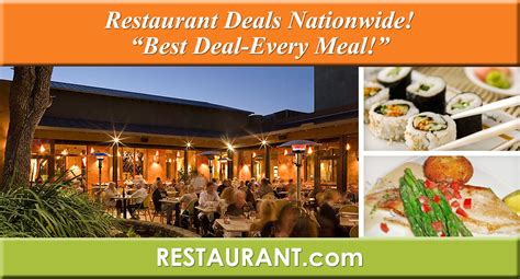 restaurant deals dollar restaurants