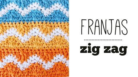 zig zag step pattern punto zig zag a crochet ideal colchas tutorial paso a