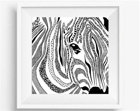 zebra tattoo pen zebra african animal zentangle tribal native aboriginal