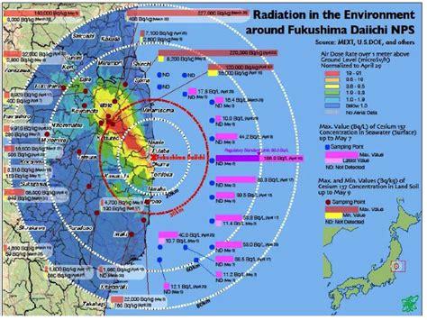fukushima fallout usa map fukushima anti radioactive really