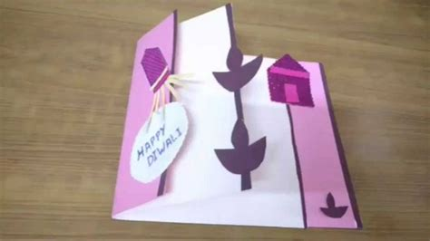 how to make beautiful greeting cards at home 17 best ideas about diwali greeting cards on